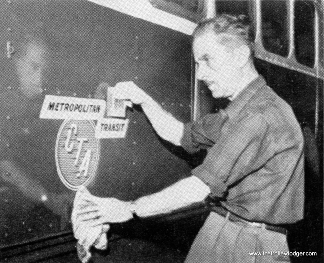"The CTA added ""Metropolitan Transit"" to its logo early in 1958, to emphasize how their role extended outside the Chicago city limits. It was during this time that two of the three area interurbans were failing, and CTA unsuccessfully lobbied the Illinois legislature for financial aid that might have made it possible to incorporate larger parts of them into the CTA system. As it turned out, both the Chicago, Aurora & Elgin and Chicago, North Shore & Milwaukee railroads went out of business and were liquidated. Only a few miles of each line survives in the present rapid transit network."